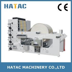 China Automatic Label Flexo Printing Machine,Vinyl Sticker Printing Machine,Flexo Printing Machinery on sale
