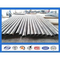 Quality 25FT 30FT 35FT 40FT Octagonal Galvanized Steel Power Pole for 500KGF Design Load for sale
