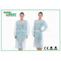 Quality SMS Disposable Medical Isolation Gown With Long Sleeves for sale