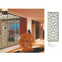 Quality Lightweight Decorative Metal Screen Panels For Separate / Beautify / Coordinate Space for sale