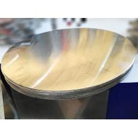 Quality Utensil Aluminum Circle Blanks / Aluminium Discs Circles Mill Finished Flat Surface for sale