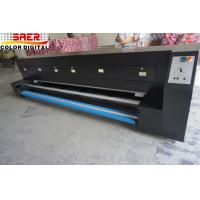 Quality Dual CMYK Dye Sublimation Machine With Filter Oven For Various Fabric High Thermal Efficiency for sale