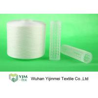 Strong TFO White Dyed Polyester Spun YarnFor High Speed Sewing Machine