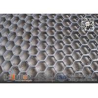 Quality AISI309 Hex-mesh Grating   19mm X 2mm Strip   China Hex-mesh Factory for sale