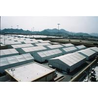Quality Durable Large Storage Tent , Aluminum Clear Span Structure Tents For Industry Warehouse for sale