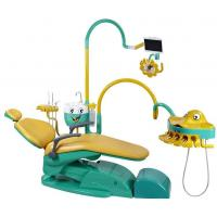 Quality Special Dental Chair Unit For Children With Lovely Fish Connected Or Movable Instrument Tray for sale