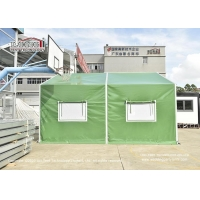 Quality Self Cleaning Custom Canvas Waterproof MilitaryTents With Sidewalls for sale