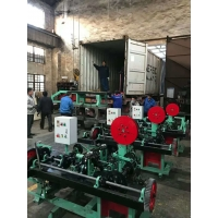 Quality Best Price  High Production Barbed Wire Mesh Making Machine Good Factory for sale