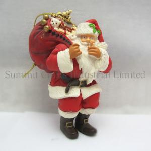 China Custom christmas decoration resin  figurine on sale
