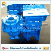 Quality iron rubber gold mining solid slurry pump price for sale