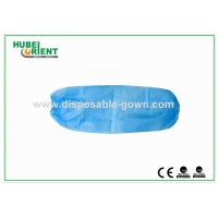 Quality Waterproof One Time Using PE Oversleeves For Clean Environment for sale