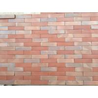 Buy cheap Changeable Colors Flat Thin Split Face Brick For Exterior Wall Low Water Absorption from wholesalers