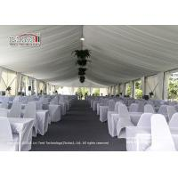 Quality White Clear Span Tent for 800 People as Wedding Tent for sale