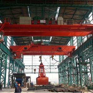 Quality Hydraulic Electric Overhead Crane Garbage Metal Grab Hoist Crane Grab 10T 16T 20T for sale