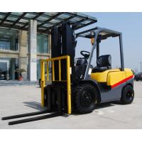 Quality Energy Saving Double / Triple Mast Forklift , 2.5 Ton Four Wheel Drive Forklift for sale