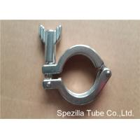 Quality TP304 ASTM A270 Sanitary Valves And Fittings Stainless Steel Single Pin Heavy Duty Clamp for sale