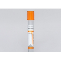 Quality 1mL To 20mL Venous Blood Sample Collection Vials Orange Top Blood Collection Tube for sale