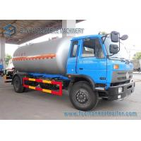 Quality 12000L Lpg Tanker Truck  / Lpg Gas Tanker Truck 1mm Rust Thickness For Lpg Cylinder for sale