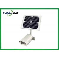 Quality Low Consumption 4g Wifi Module Solar Powered Cctv Bullet Camera for sale
