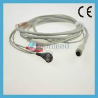 Quality MEK One piece 3-lead ECG Cable with leadwires for sale