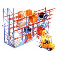 Quality High density heavy weight selective pallet rack , customized longspan shelving for sale