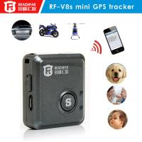 Quality Cheap mini battery powered gps car tracker can remote control and immobilizer for sale