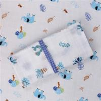 Quality Infants Personalised Muslin Cloth Durable Machine Washable Naturally Smooth for sale