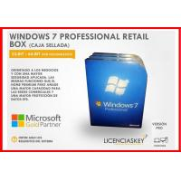 Quality 100% Original OEM Windows 7 Professional Retail Box 16 GB Available Disk Space for sale
