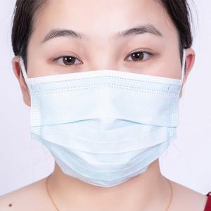 Quality Blue High Filtration Breathable Earloop Medical Mask for sale