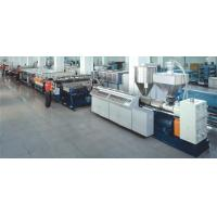 China 2100mm  wide UV PC Pp Hollow Sheet Extrusion Line on sale