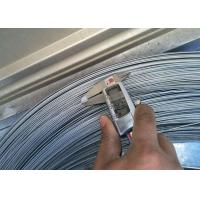 Buy 1 . 6MM 1900Mpa Galvanized Steel High Carbon Wire , Mattress & Hose Spring Wire at wholesale prices