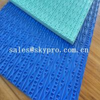 Quality Custom Shoe Sole Rubber Sheet various color skidproof rubber for sale