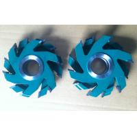 China 4Pcs Green Colour TCT Carbide Tipped Cutter Head For Floor Hard Wood on sale