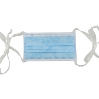 Quality Hypoallergenic Skin Friendly Sterile Disposable Tie On Surgical Masks for sale