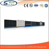 Buy cheap Curtain Wall Double Glazing Equipment , Insulated Glass Machine With Touch from wholesalers