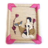 Buy cheap Hemp Wall Hanging,Wall Arts,Picture,Handicrafts,Home Decor from wholesalers