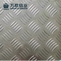 Buy cheap 3003 Aluminum Checkered Plate Stair Treads And 5 Bars Aluminium Tread Plate from wholesalers