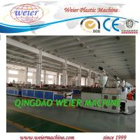 Quality PE And Wood Wpc Extrusion Machine 37kw Conical Double Screw Extruder for sale