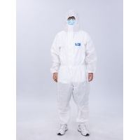 Quality Non Sterile Non Woven Disposable Medical Protective Coverall For Medical Supply for sale