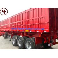 China 40 Tons Heavy Duty Cargo Semi Trailer / End Dump Trailer with CE Certification on sale