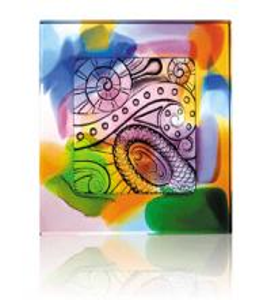 China colorful liu li brick art glass craft crystal decorations on sale