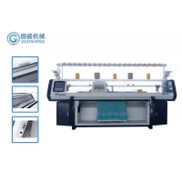 Quality Computerized Three System 52 Inch Blanket Knitting Machine Home for sale