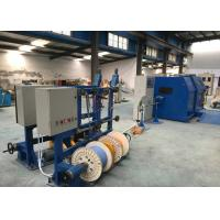 China Fuchuan Copper Core Wire Single Twist  Machine 30MM - 200MM Cable Laying Equipment on sale
