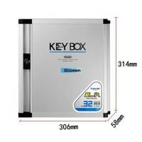 Quality Aluminum Wall Mounted Lockable Safety Key Boxes For The Home 34 Keys for sale