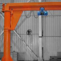 Quality Spanco Floor Mounted Jib Crane 5 ton Fitting Fabrication Workstations for sale