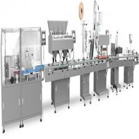 Buy cheap Integrated Filling Production Line Touch Screen Operation Fit Tablets / Capsules from wholesalers