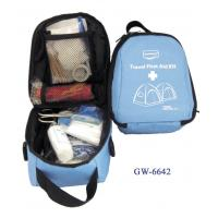 China PVC Coated Nylon Bag Travel First Aid Kits For Illness Or Injury Care on sale