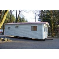 China Moistureproof Prefab Mobile Homes / Yellow Mobile Manufactured Homes on sale