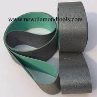 Quality Diamond Electroplated Sanding Belts for stone, glass, ceramics, for sale