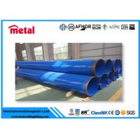 Buy Concrete Coated Steel Pipe 21.3 - 660 Mm Outer Diameter Round Section Shape at wholesale prices